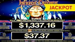 JACKPOT HANDPAY! Jackpot Catcher Slot - OFF THE CHARTS, CRAZY HIT!
