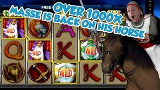 BIG WIN!!!! Knights Life Huge win -  Live Casino Games (Casino Slots)
