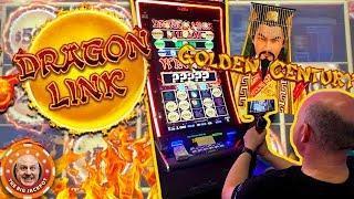 •$50 BET$ Golden Century Dragon Link •DOUBLE BONUS JACKPOT! •