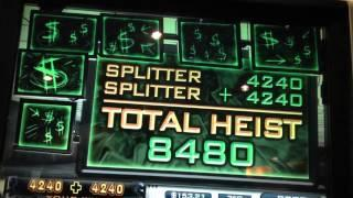 Splitter Win on Joker's Heist