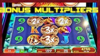 • BONUS MULTIPLIERS • • MAMMOTH POWER•  | MAX BET | NICE SESSION | LIVE PLAY | SLOT MACHINE