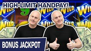 ⋆ Slots ⋆ HIGH-LIMIT Handpay On the LAS VEGAS STRIP! 2️⃣ TWO Different VAULT Games!