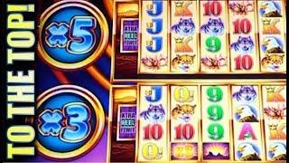 •CLIMB EVERY TOWER • SUPER FREE GAMES!• WONDER 4 TOWER BUFFALO (Aristocrat) Slot Machine Bonus