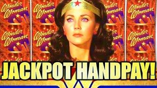 •JACKPOT! FULL SCREEN WILDS!• BEST OF WONDER WOMAN • Slot Machine Bonus (SG)
