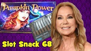 Slot Snack 68 - Kathie Lee Gifford and Pumpkin Power!