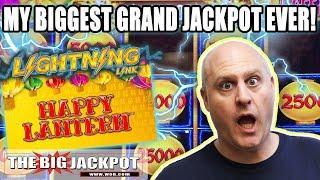 •My BIGGEST Grand Jackpot Ever on Lightning Link! •| The Big Jackpot