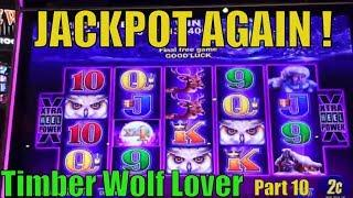 •JACKPOT (HandPay)•Timber Wolf Lover (10)•Timber Wolf Deluxe Slot•x1482 ! The Power of Multiplier栗