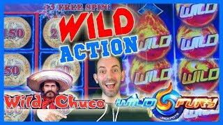 WILD Action with WILD Chuco + WILD Fury + Jason! • Brian Christopher Slots