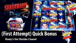 (First Attempt) Sharknado by Aristocrat /Gemmie Games Quick Bonus at Sycuan Casino