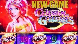 NEW GAME-CELESTIAL GODDESSES SLOT MACHINE-MAX BET