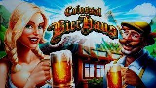 Colossal Bier Haus Slot  - $6 Max Bet - NICE RETRIGGER BONUS!