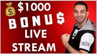 •$1000 BONUS LIVE STREAM • San Manuel Casino • BCSlots