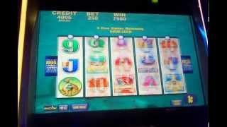 Aristocrat slot machine whales of cash Max bet bonus