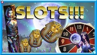 •BIG ARCADE GAMBLES!! VAMPIRES DESIRE, MOON SHADOW & GOLDEN PHARAOH'S  •