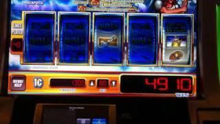 WMS Golden Hammer Slot Bonus + Minor Jackpot - SugarHouse Casino - Philadelphia, PA