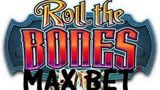 Roll the Bones - Bally Slot Machine Bonus Win