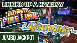 ⋆ Slots ⋆ Lock It Link AND Ultimate Fire Link? ⋆ Slots ⋆ Let's LINK UP A HANDPAY @ Hard Rock Hollywood