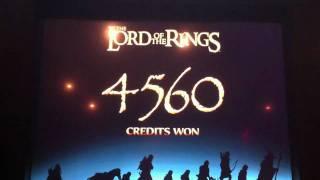 Lord of the Rings - Bonus at Harrahs Casino - Hit 3