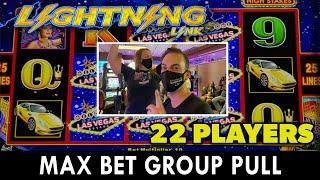 ⋆ Slots ⋆ $4,400 LIGHTNING LINK GROUP SLOT PULL at HARD ROCK TULSA