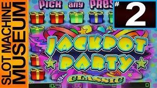 JACKPOT PARTY CLASSIC (WMS) - [Slot Museum] ~ Slot Machine Review