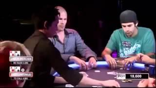 Jason Mercier And Patrik Antonius In A Big Pot