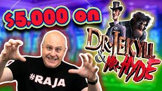 ★ Slots ★ What Can I Hit with $5,000 on Dr. Jekyll & Mr. Hyde? ★ Slots ★ $60 SPINS!