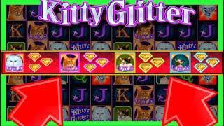 I DID IT! ALL CATS WILD IN KITTY GLITTER SUPER FREE GAMES! Slot Machine Winning W/ SDGuy1234