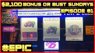 ★ Slots ★WHEEL OF FORTUNE JACKPOT HANDPAY ★ Slots ★ HIGH LIMIT $50 SPINS ONLY ★ Slots ★EPIC COMEBACK