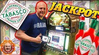 •HOT HOT WINS on Tabasco Slots! •DOUBLE HANDPAYS! •