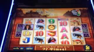 $10 BET BONUS! CAPTAIN CUTTHROAT SLOT MACHINE VIDEO!