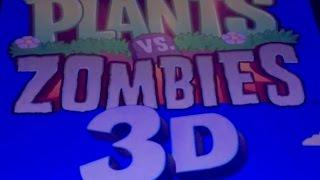 NEW! PLANTS VS ZOMBIES 3D SLOT MACHINE BONUS-LIVE PLAY!