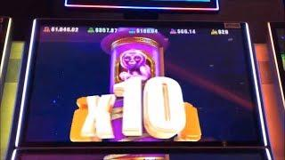 •OMG ! Monkey!•W4 Wheel Buffalo Gold/Timber Wolf DX/ Fast Fortune 5 Dragons Gold Slot•$125 Free Play