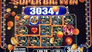 SUPER BIG WIN! Sun Warrior Slot Bonus $3 Bet WMS