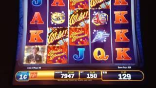 Wonder Woman Wild Bonus @ $1.50 Bet