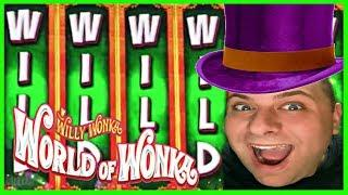 • WORLD of WONKA •BONUS WIN! • • EZ Life Slot Jackpots