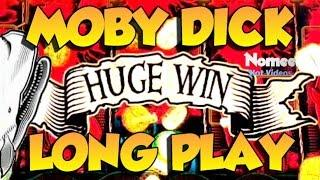 • HUGE WIN!!! • Moby Dick Slot Machine - Max Bet Long Play!