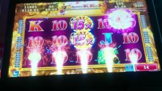Konami Golden Pumpkin Slot Machine Bonus - Coin Show