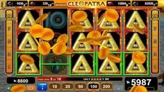 Grace of Cleopatra slot - 10,100 win!