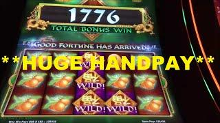ALERT!! HANDPAY - Bacon Wrapped Titties Fu Dao Le Bonus JACKPOT