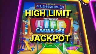 HANDPAY: High Limit Game of Life Career Day!