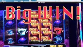 Fireball II After Burn Slot Machine Bonus-Big Win!