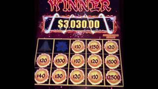 Handpays on Dragon Link Happy & Prosperous & Lightning Link Tiki Fire Major Jackpot!