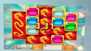 Dragon Shrine Online Slot from Quickspin - Dragon Stack Respin Feature!