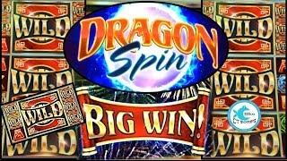 Dragon Spin Slot Machine - Multiple Bonuses, Wilds, Full Screens, Progressives!