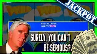 JACKPOT! • HAND PAY! MASSIVE BETS! • Upto $45/SPIN! • Airplane Slot Machine Winning W/ SDGuy1234