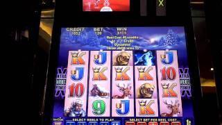 Timber Wolf slot macine bonus win