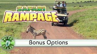 Safari Rampage slot machine with Bonus Options