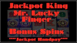 MR. LUCKY FINGER #2 *JACKPOT HANDPAY* 4 BADGE BONUS TRIGGER!!