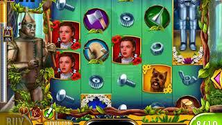 WIZARD OF OZ: AS GOOD AS GOLD Video Slot Game with a FREE SPIN BONUS