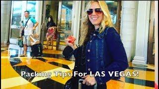 Packing Tips For Las Vegas! What to Pack, What to Wear and Bring to Vegas.